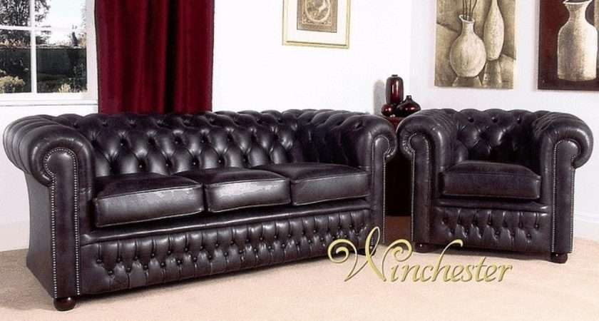 Chesterfield Stamford Leather Furniture Suites