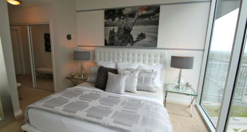 Chic Modern Bedroom Other Metro