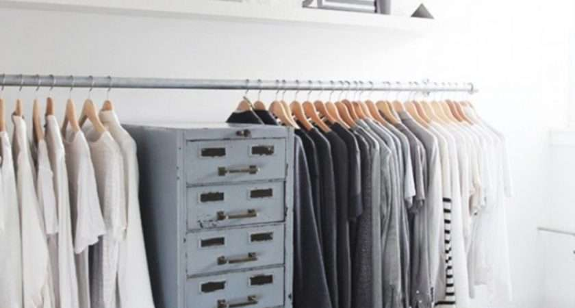 Chic Modern Open Closet Ideas Displaying Your