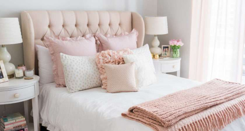 Chicago Bedroom Parisian Chic Blush Pink Bows