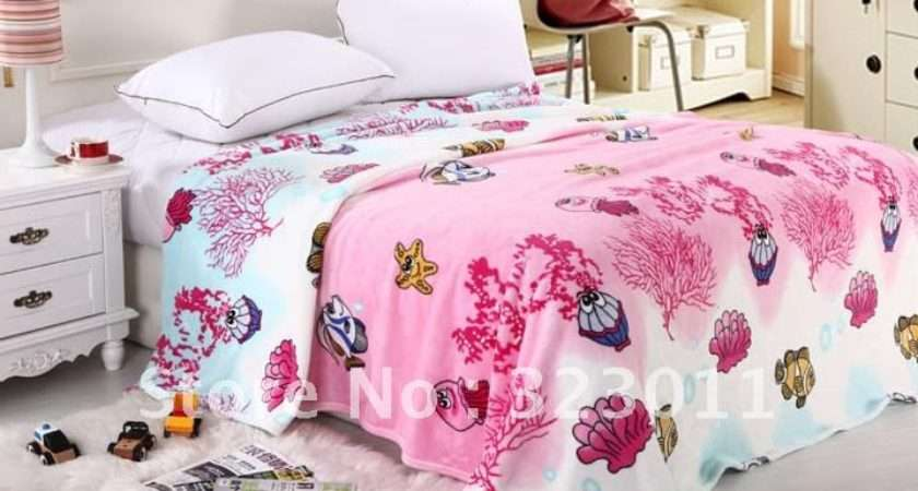Children Blanket Bedding Bed Throw Hotel