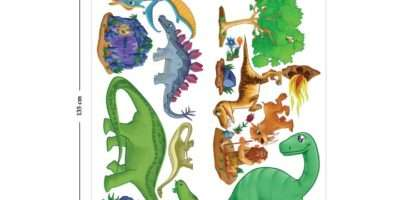 Childrens Dinosaur Wall Stickers Kids