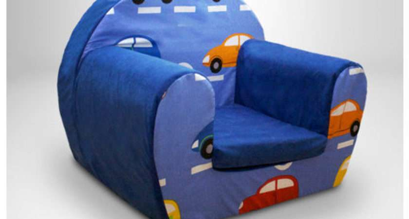 Childrens Kids Comfy Foam Chair Toddlers Armchair Seat Ebay