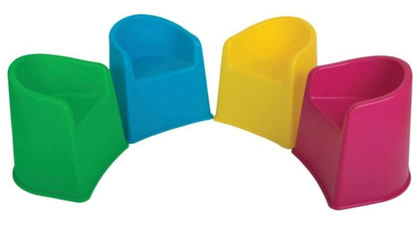 Childrens Tub Chairs Funky Chair Set Fun Bright