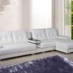 China New Design Leather Corner Sofa