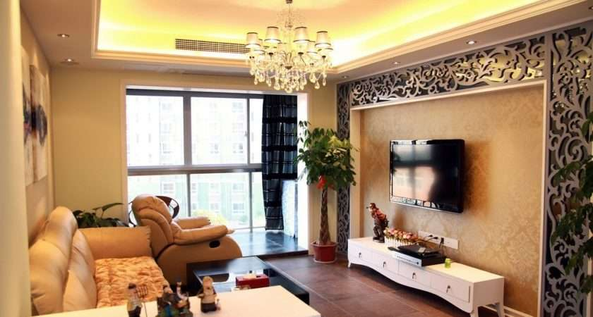 Chinese Living Room Wall Design Famous Ancient Painting