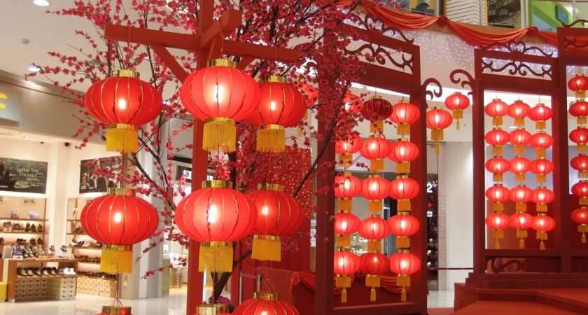 Chinese New Year Decoration Ideas Office