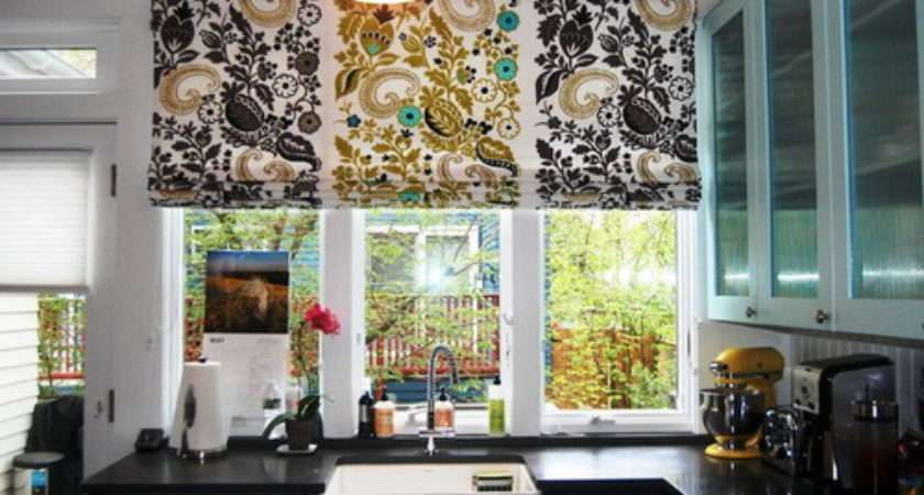 Choose Best Creative Kitchen Curtain Ideas