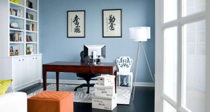 Choose Best Home Office Color Schemes