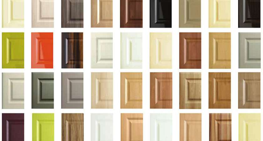 Choose Your Kitchen Door Colour Made Measure Replacement