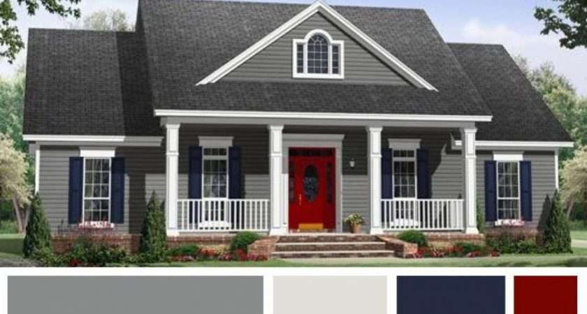 Choosing Exterior Paint Colors Homes Theydesign