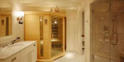 Choosing New Bathroom Design Ideas Finnish Sauna Light
