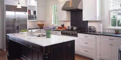 Choosing Right Finishing Black White Cabinets