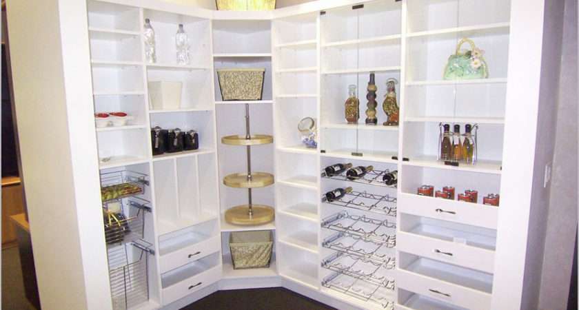 Choosing Right Kitchen Pantry Cabinet Interior