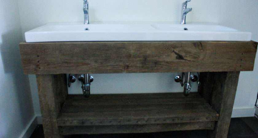 Chris Made Rustic Bottom Out Same Worn Barn Wood Our
