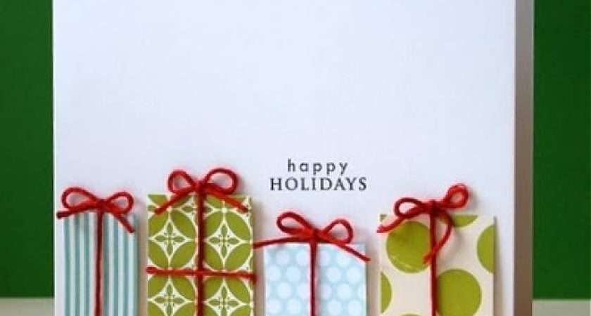 Christmas Cards Paper Quilling Make Diy Cute Greeting