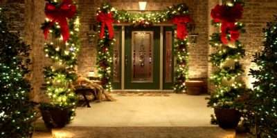 Christmas Decor Swingle Residential Example