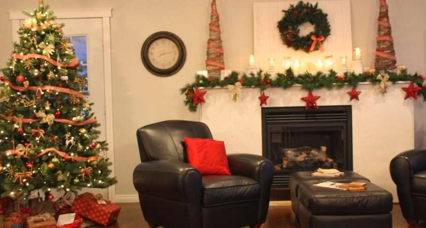 Christmas Decorations Ideas Living Room