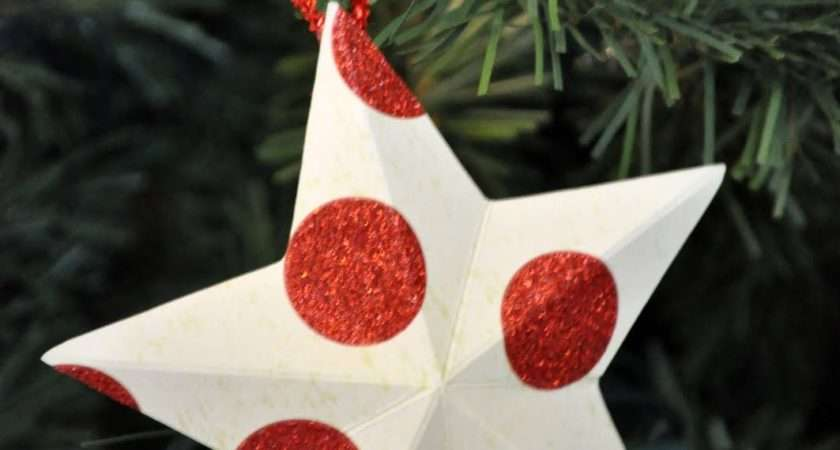 Christmas Decorations Make Out Paper