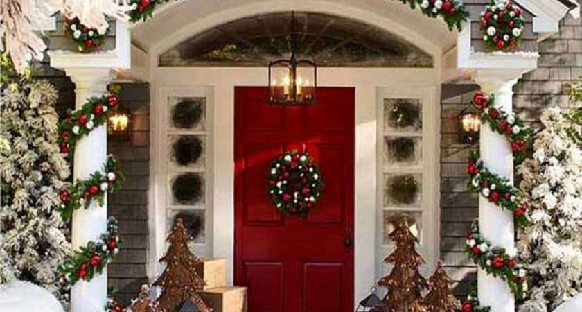 Christmas Decorations Outdoor Home Design Decorating