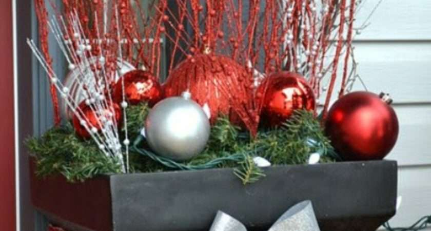 Christmas Decorations Outside Power