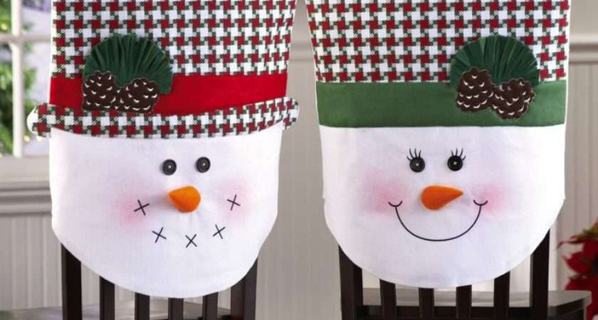 Christmas Dining Room Chair Covers