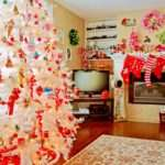 Christmas Fireplace Photos Ideas