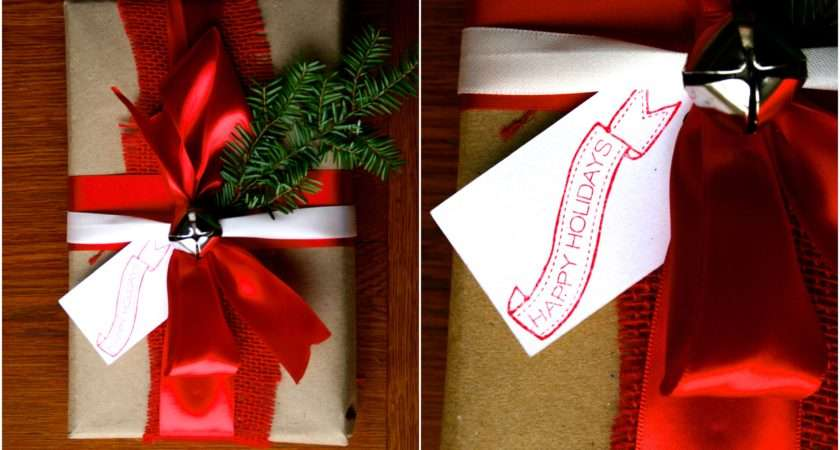 Christmas Gift Wrapping Ideas Bride Link