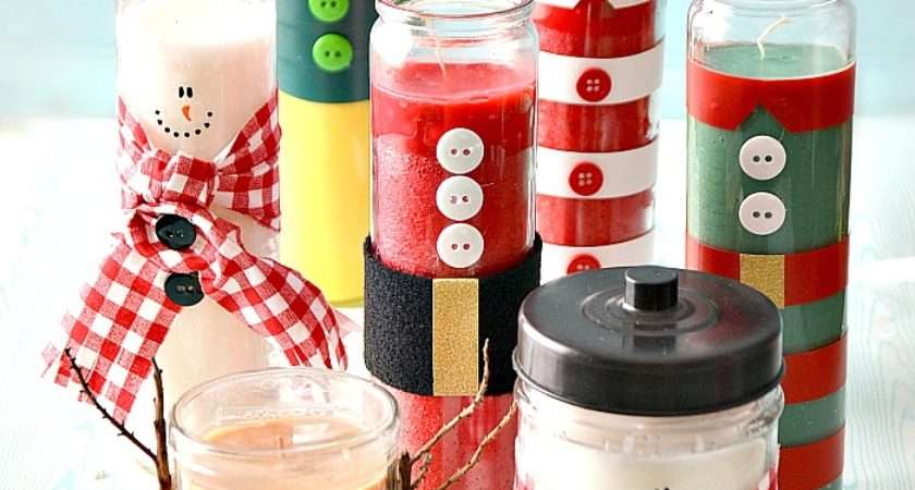 Christmas Gifts Diy Candles Avenue
