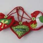 Christmas Heart Decorations Luulla