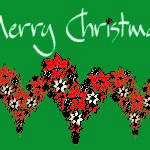 Christmas Heart Wishing All Merry