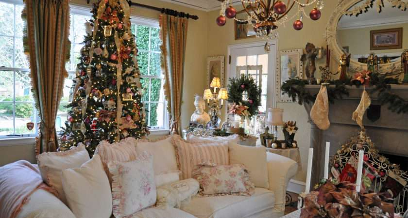 Christmas House Inside Chritsmas Interior Decorations