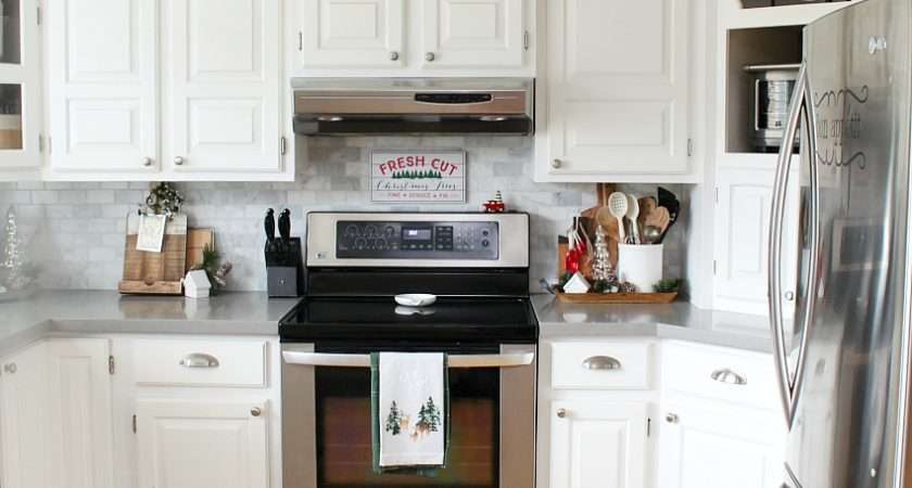 Christmas Kitchen Decorating Ideas Clean Scentsible