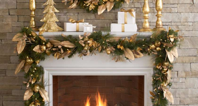 Christmas Mantles Some Serious Decorating Inspiration