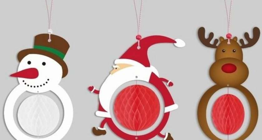 Christmas Paper Craft Decorations Find Ideas