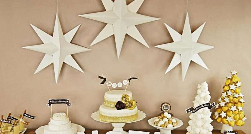 Christmas Paper Star Decorations Easy Crafts Homemade Decorating
