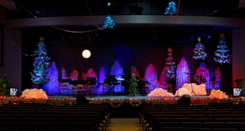 Christmas Stage Design Church Joy Studio