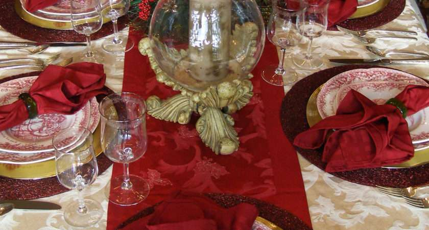 Christmas Table Decoration Instyle Fashion One