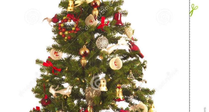 Christmas Tree Festive Decorations Antique New