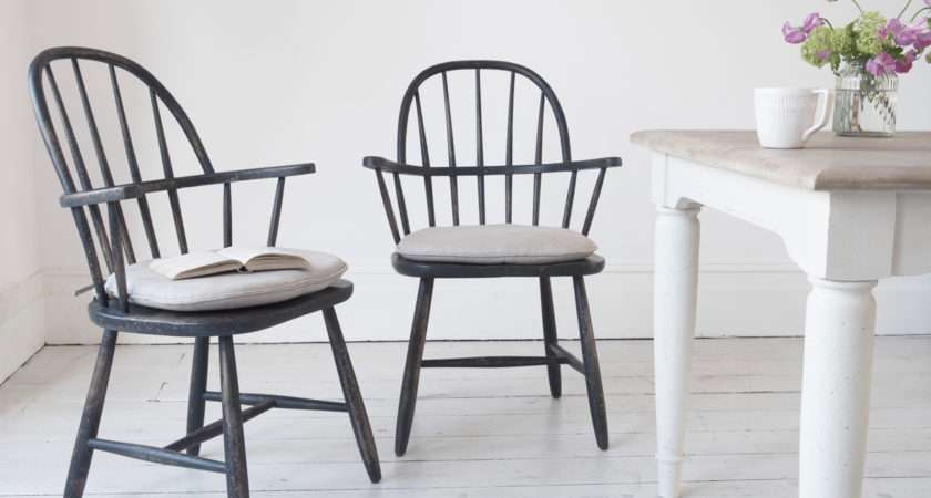 Chuckler Wooden Dining Chair Farmhouse Kitchen Chairs Loaf