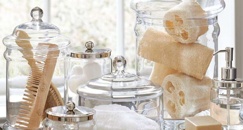 Classic Glass Canister Pottery Barn