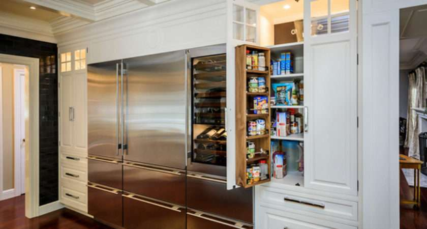 Classic Modern Kitchen Pantry Ideas Decoration