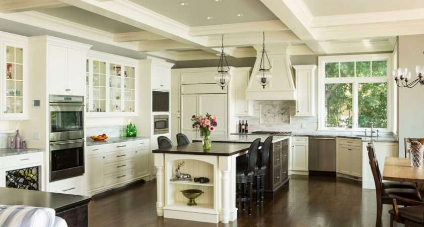 Classic Open Kitchen Designs Cool Design Awesome