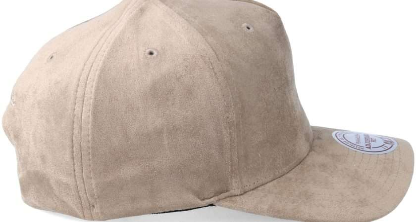 Classic Taupe Adjustable Mitchell Ness Casquette