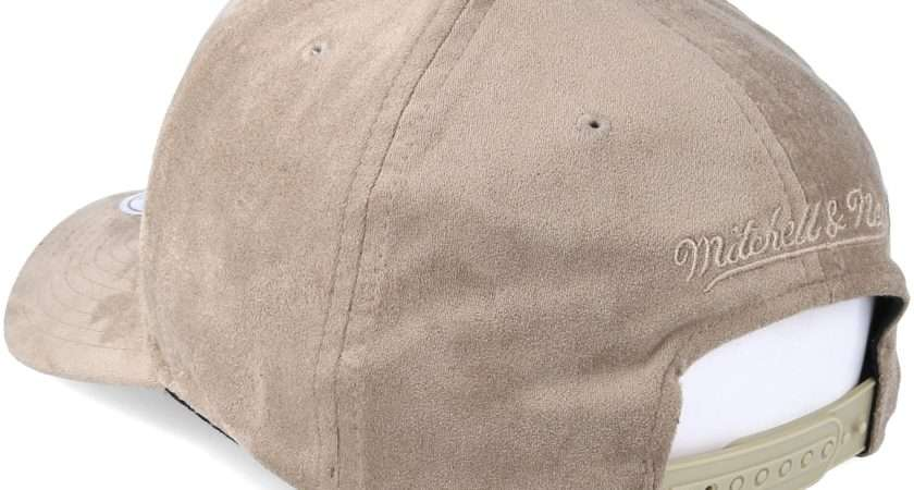 Classic Taupe Adjustable Mitchell Ness Keps Hatstore