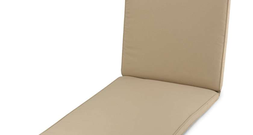 Classic Taupe Sunlounger Cushion Next Day Delivery