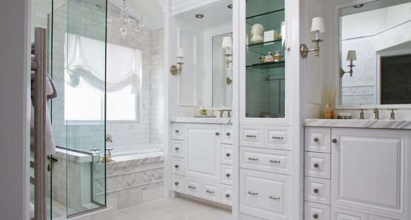 Classic White Bathroom Marble