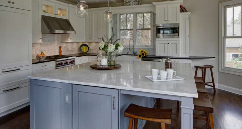 Classically Inspired Traditional Kitchen Design Lombard