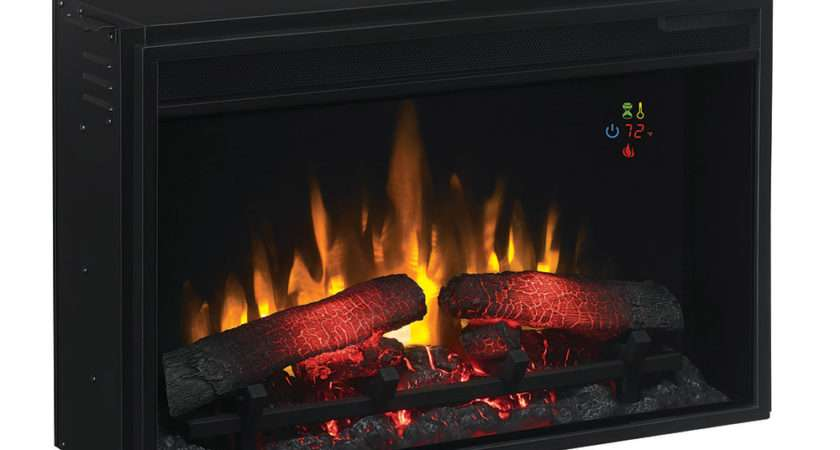 Classicflame Inch Electric Fireplace Insert Gra