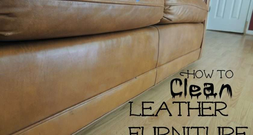 Clean Leather Furniture Fun Things While